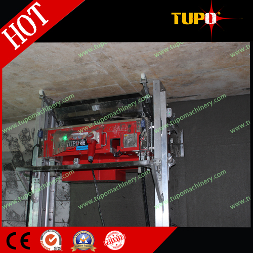 TUPO automatic plastering machine in China