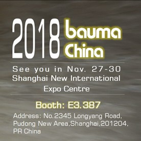 Welcome to The Bauma China 2018
