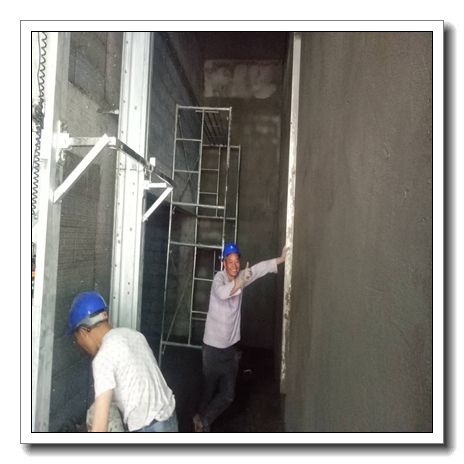 #New products# Automatic Sanding Wall Plaster China Automatic wall Rendering and plaster machine for wall from 2.6m to 6m height wall