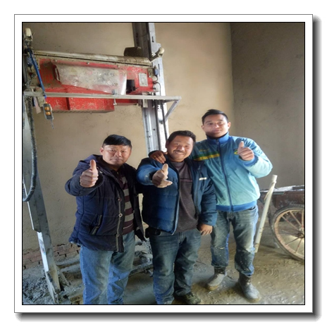 #Most Inquiried# China Made automatic Internal wall plastering machine TUPO 9 New Automatic Wall Rendering Machine