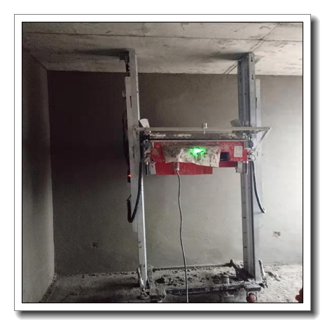 70 square meter per hour automatic wall roof cement mortar plastering rendering machine